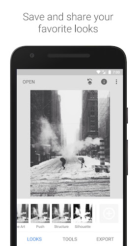 Snapseed Android App Screenshot