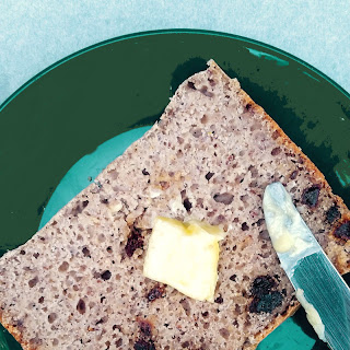 Gluten Free Bread Machine Cinnamon Raisin Bread.