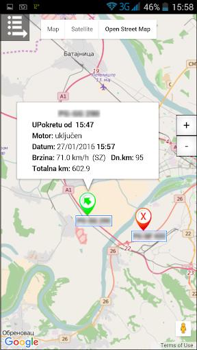 GPS Tragau010d  screenshots 5