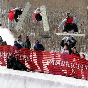 The Flip by Jud Joyce - Sports & Fitness Snow Sports ( snow, sports, snowboarding, photoshop )