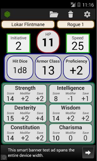 Fifth Edition Character Sheet  screenshots 1