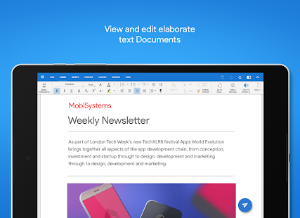Mobisystems OfficeSuite : Free Office + PDF Editor Screenshot