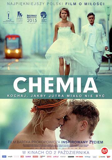 Przód ulotki filmu 'Chemia'