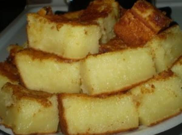 Butter Mochi | Just A Pinch Recipes