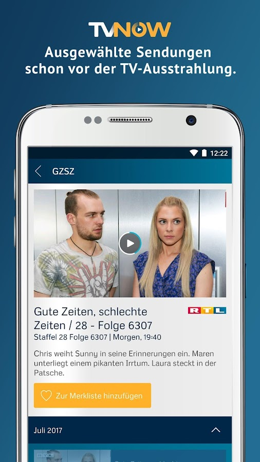 TV NOW PLUS – Screenshot