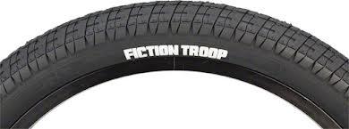 """Fiction BMX Troop Tire 20"""" x 2.3"""" Black"""