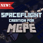 Spaceflight map for Minecraft
