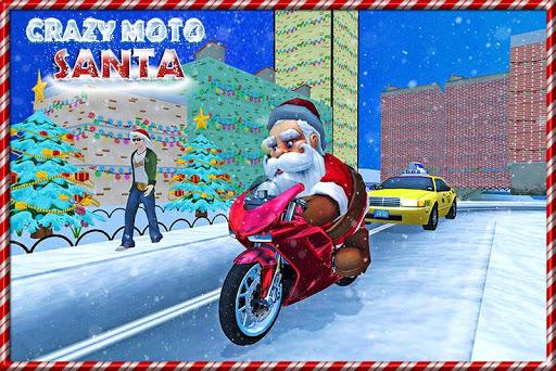 瘋狂的聖誕老人Moto禮物交付