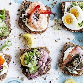 DIY smorrebrod (open sandwiches)