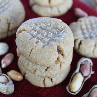 Easy Four-Ingredient Peanut Butter Cookies.
