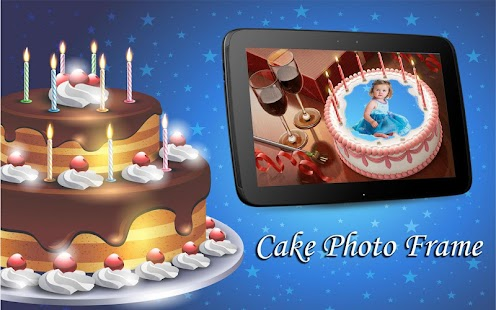 3D Cake Photo Frame screenshot