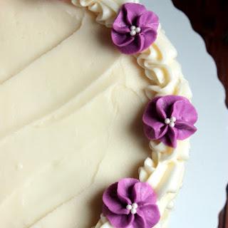 White Chocolate Birthday Cake