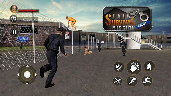 Download Jail Survival Mission : Great Prison Escape 2018 For PC Windows and Mac apk screenshot 12