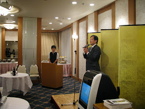 Photo: The 1st OB/OG Party held at Shin-Hankyu Hotel on Dec. 27 (Sat.), 2008