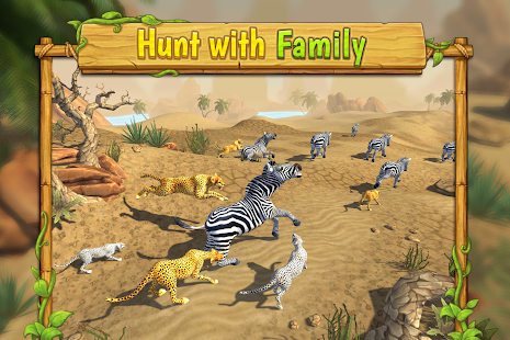 Cheetah Family Sim- screenshot thumbnail