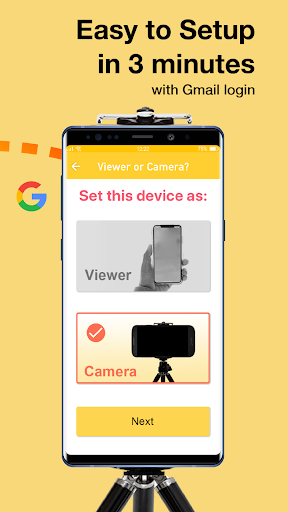 Alfred Home Security Camera 3.15.1 (build 1678) screenshots 3
