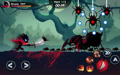 Shadow Stickman: Fight for Justice screenshot 3
