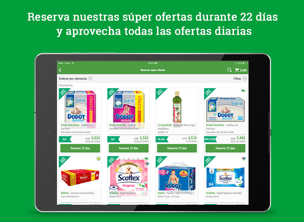 Supermercado Online Tudespensa- screenshot