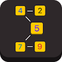 Sum X - simple math puzzle icon