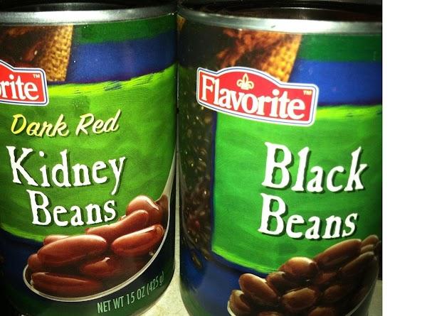 Add the kidney beans, stir well.