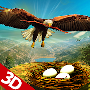 Life of Golden Eagle: Falcon Wildlife Simulation