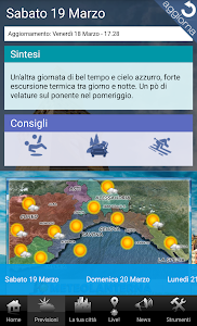 Meteolanterna screenshot 1