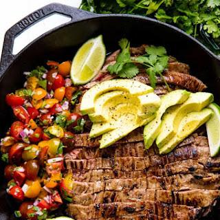 Mexican Skillet Steak.