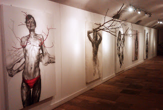 """Photo: Personal exhibition of installations, """"Damaged People"""", Casa Matei Gallery, 17.05.2011-20.05.2011"""