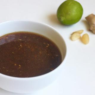 Sesame Ginger Lime Marinade Recipe