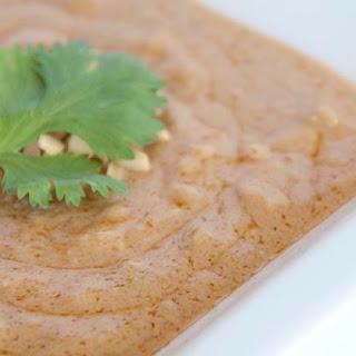 Thai Style Peanut Sauce.
