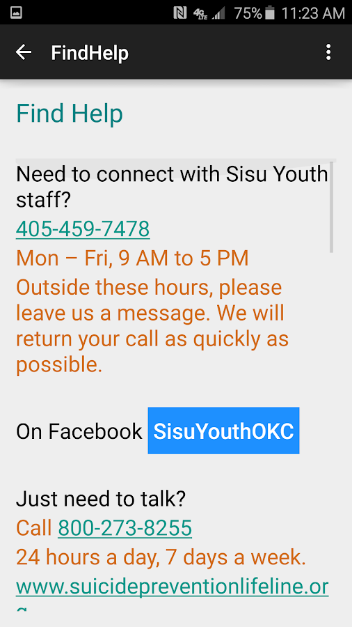 Sisu Youth- screenshot