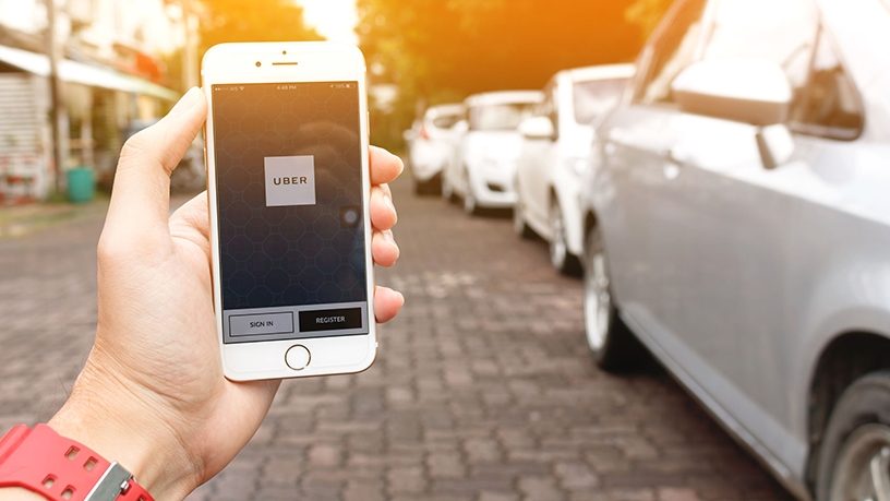 Uber's ride-hailing service reaches over 700 cities in 63 countries.
