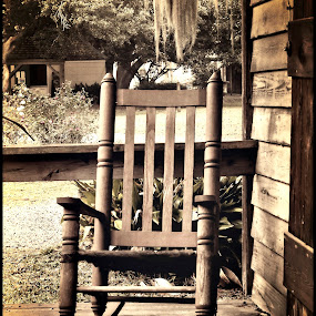 by Brook Kornegay - Artistic Objects Furniture ( sepia, furniture, rocking chair,  )