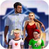 Virtual Mom: Ultimate Family Woman Android APK Download Free By Witty Gamerz