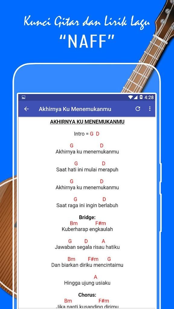 Kunci Gitar Dan Lirik Lagu Naff Lengkap 1 0 Apk Download Com Kuncigitardanlirik Naffchord Apk Free