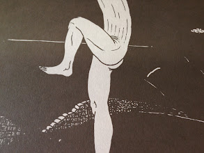 Photo: Série limitée 40ex numérotés, signés par HubbubHum. A3 gris, 300g, sérigraphié blanc et noir. la couche de blanc