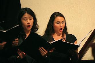 Photo: Dec. 2006: Sacred Music from Italy & Germany. St. John's Episcopal Church; Dora Kim and Toni Casamassina