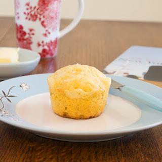 Garlic Cheddar Cornbread Muffins