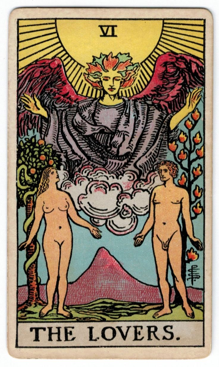 The Lovers Tarot Card Meaning