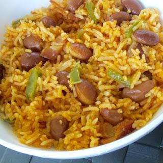 Basmati Rice with Romano Beans Recipe