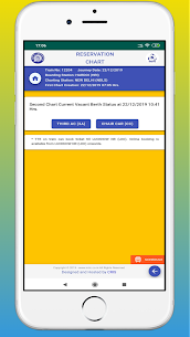 Rail Chart-IRCTC Vacant Seats Apk  Download For Android 5