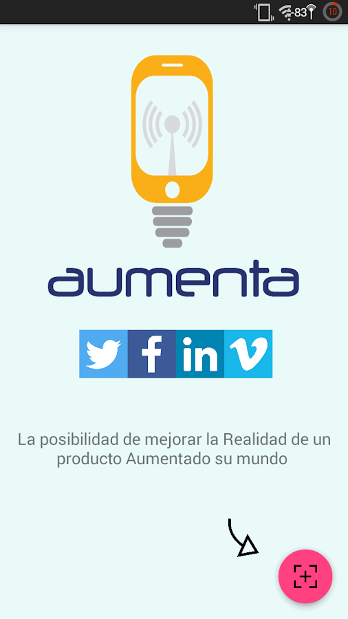 aumenta py- screenshot