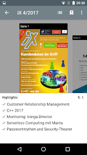 iX Magazin- screenshot thumbnail