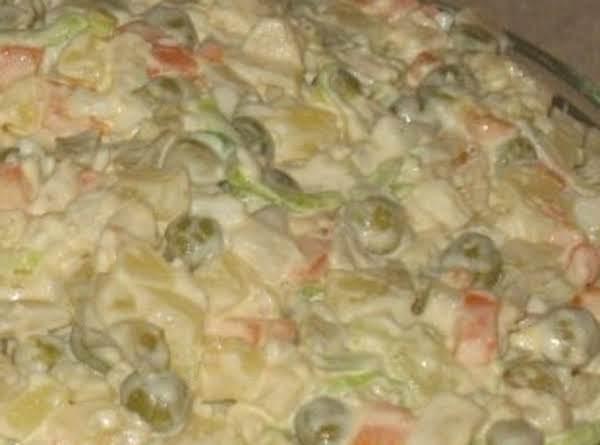 Polish Vegetable Salad (salatka Jarzynowa )