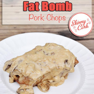 Low Carb Fat Bomb Pork Chops