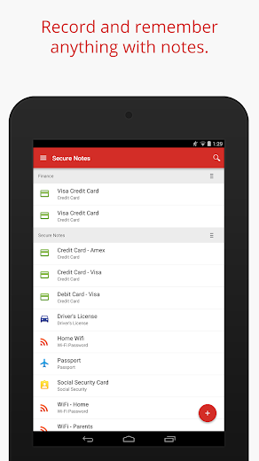 Screenshot 10 for LastPass's Android app'
