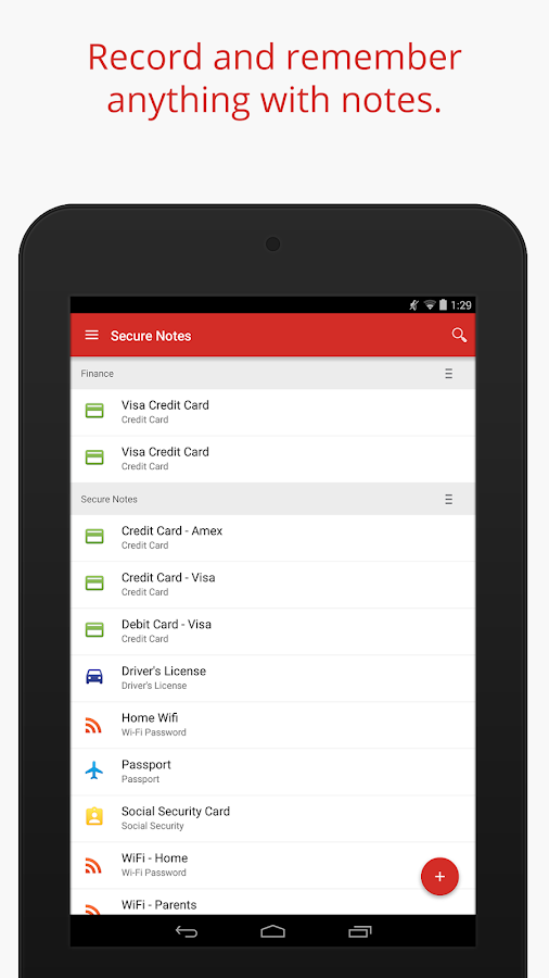 LastPass Password Manager- screenshot