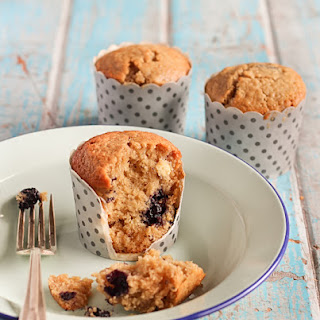 Blueberry, White Chocolate & Lime Muffins Recipe
