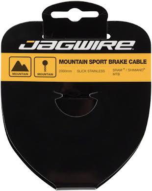 Jagwire Sport Brake SRAM/Shimano 1.5x2000mm Slick Stainless MTB Cable alternate image 0