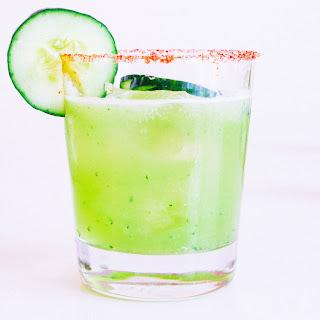 Cucumber Margaritas.